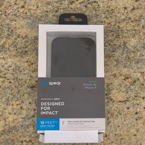 Black Speck IPhone X/XS Case